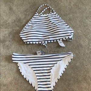 Aerie stripped padded bikini